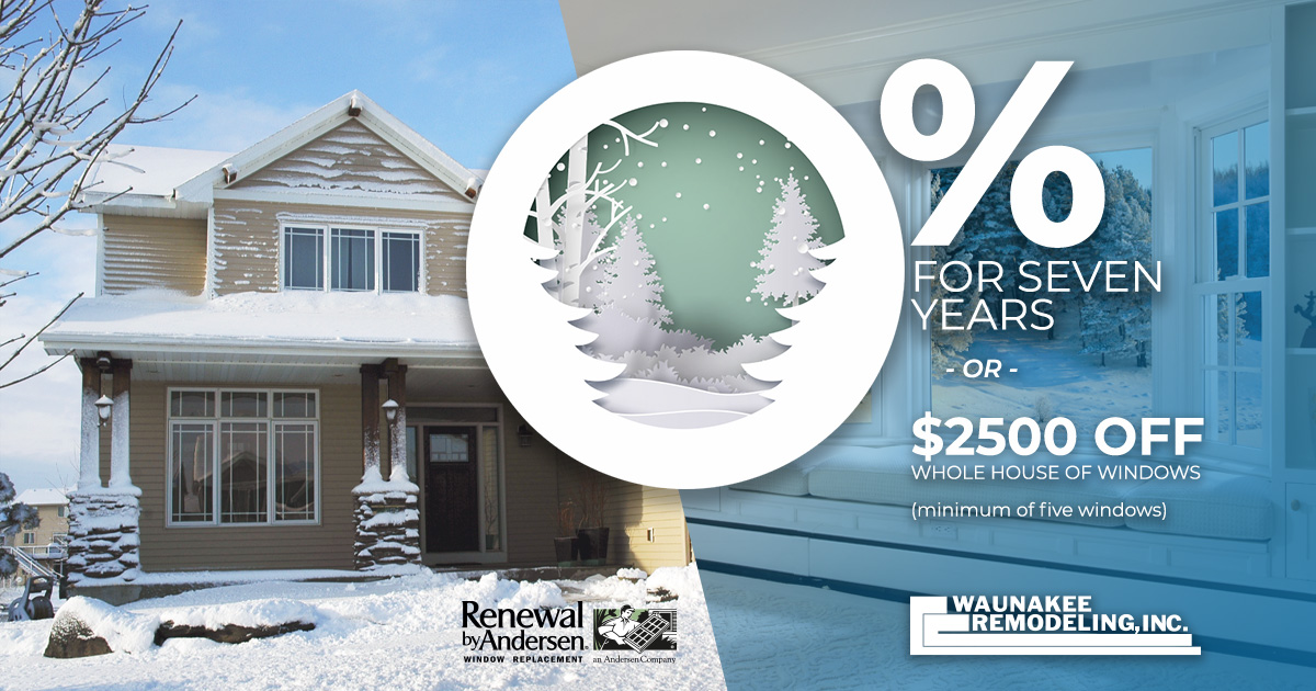 Window Replacement Promotions Renewal By Andersen
